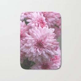 Astounding astra flowers Bath Mat