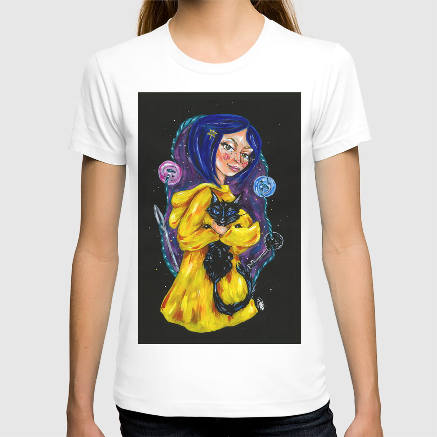 Coraline T Shirt By Patriciapedroso Society6