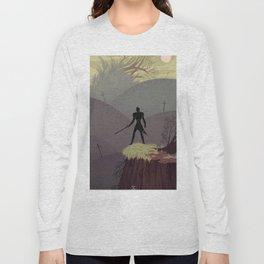 5 of Swords Long Sleeve T-shirt