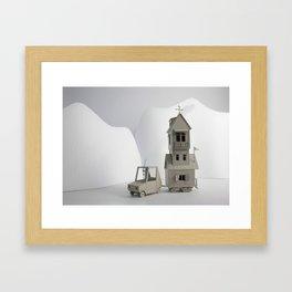 Wonder Camper Framed Art Print