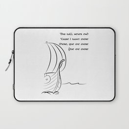 This will never end, Vikings Laptop Sleeve