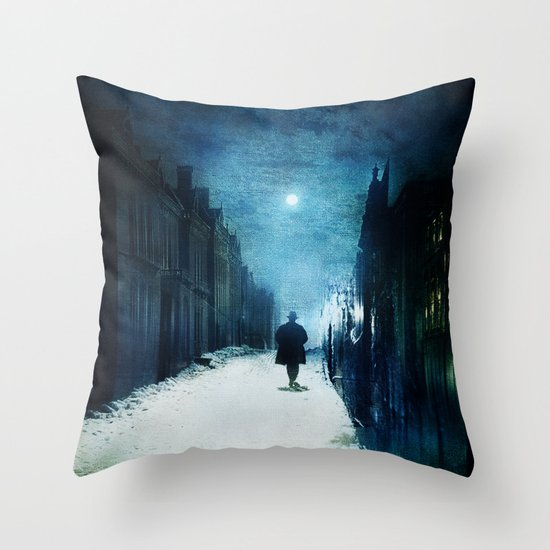Voice Of Lights Throw Pillow