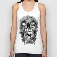 teeth Tank Tops featuring Teeth by PCRK