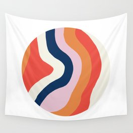 moab, canyon stripes Wall Tapestry