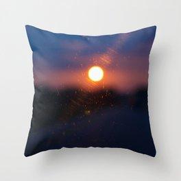 Sunrise.. Sunset.. Throw Pillow