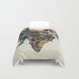 Ashes in the Arteries Duvet Cover