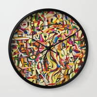 mexico Wall Clocks featuring Mexico by Jose Luis