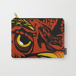 Eye of the Rooster Carry-All Pouch