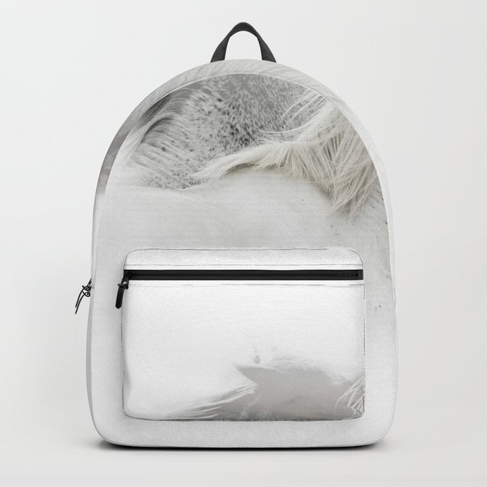 Double Exposure horses Backpack