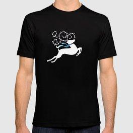 White Reindeer - Blue 55 T-shirt