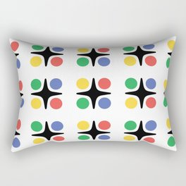 Modernist Pattern Rectangular Pillow
