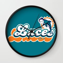 Laces Out! Wall Clock