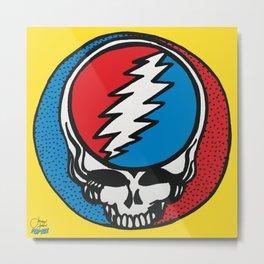 Steal ur Face | Pop Art Metal Print