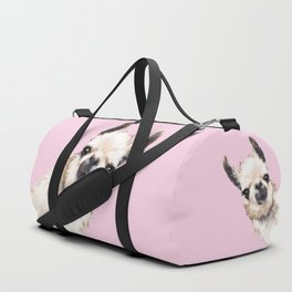 Sneaky Llama Duffle Bag