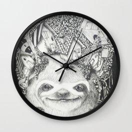 BRADIPOLANDIA Wall Clock
