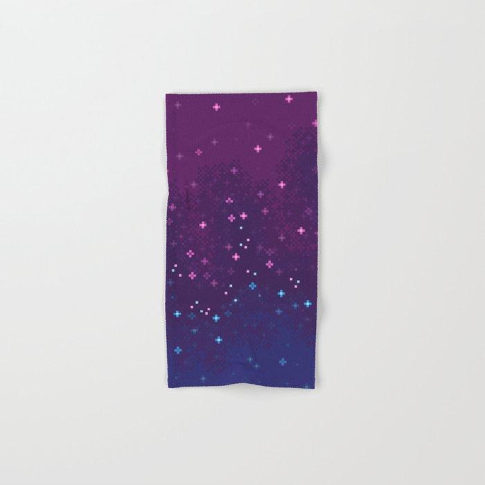 Bi Pride Flag Galaxy Hand & Bath Towel