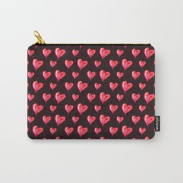 Hearts All Aglow Carry-All Pouch