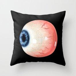 Eye ball Throw Pillow