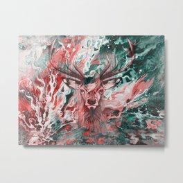 Deer's Scream Metal Print