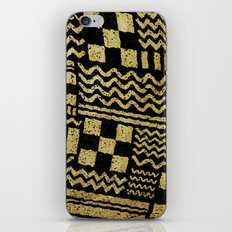 Gold Fuse iPhone Skin