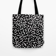 Retro Themed Repeated Pattern Design Tote Bag