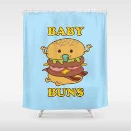 BABY BUNS 2 Shower Curtain