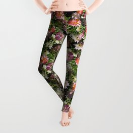 ROSA BONICA ROSE FLOWERS Leggings