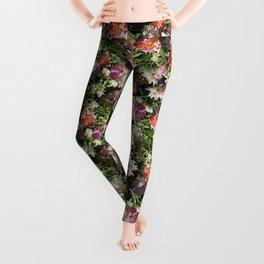 ROSA BONICA ROSE FLOWERS Leggings