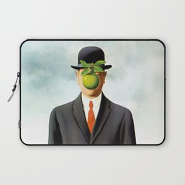 Rene Magritte The Son of Man, 1964 Artwork, Tshirts, Posters, Prints, Bags, Men, Women, Youth Laptop Sleeve