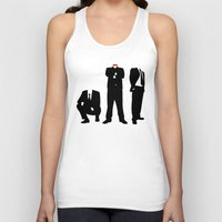 suits Tank Tops featuring Suits by ChrisShirts