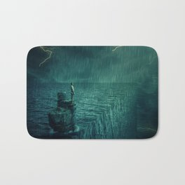 At the edge of Nothing Bath Mat