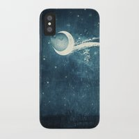 river iPhone & iPod Cases featuring Moon River by Paula Belle Flores
