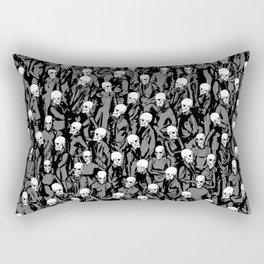 Skull Society Rectangular Pillow