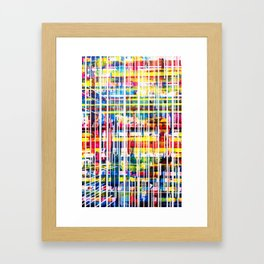 Lines 1 Framed Art Print
