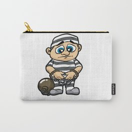 PRISONER Jail Prison detainee Cuffs Chained Comic Carry-All Pouch