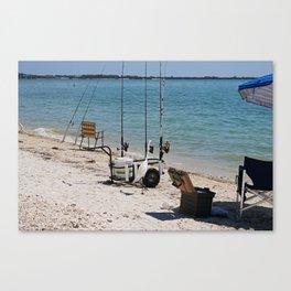 Wishin I Was Fishin III Canvas Print