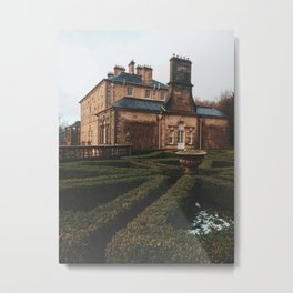 Gloomy Pollok Country Park Metal Print