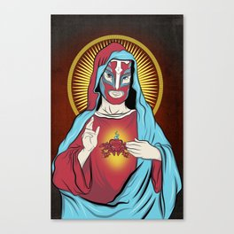 Jesus Santos Canvas Print