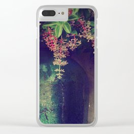 Wanton Blossoms Clear iPhone Case