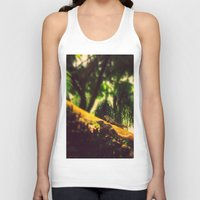 climbing Tank Tops featuring Climbing up. by BlacknWhite