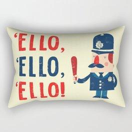 'Ello, 'ello, 'ello! Rectangular Pillow