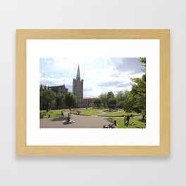 St. Patrick's Cathedral I Framed Art Print