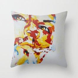 chillaxing attitude Throw Pillow