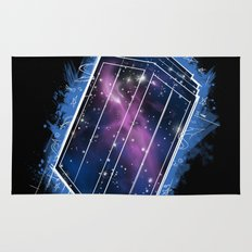 Time, Space, and Graffiti  Rug