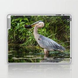 Heron's beakfast Laptop & iPad Skin