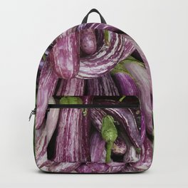 Eggplant and Beans Vegetable Backpack