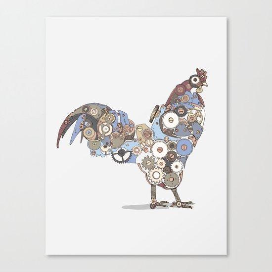 Chicken Alarm Canvas Print