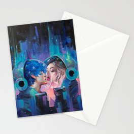 Spherical Love in the Void Stationery Cards