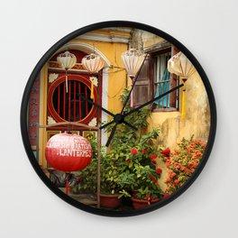 lantern workshop-cum-temple Wall Clock