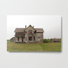 forgotten home Metal Print